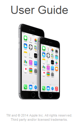 iphone 6 manual apple iphone 6 user manual 11358
